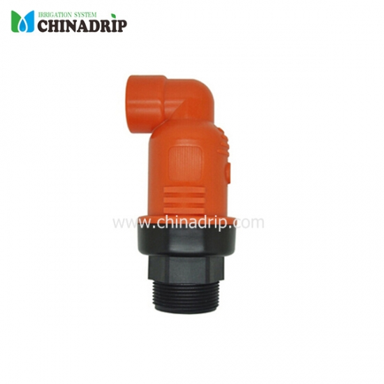 air valve for top part of irrigation system