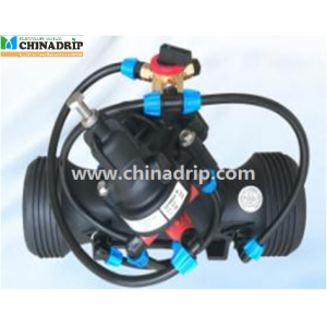 New Design Standard Reducing Valve (With Manual Three-way Valve) 3Flange (Dn80)